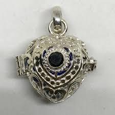 bd 08963 bali 925 silver harmony ball pendant
