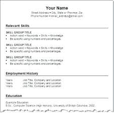 Correct Resume Format Adorable Template For Resume Cover Letter Correct Format Resumes Letsdeliverco