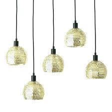 metal hanging lights gold stainless steel etched