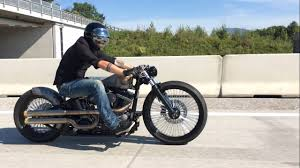 harley davidson custom softail bobber youtube