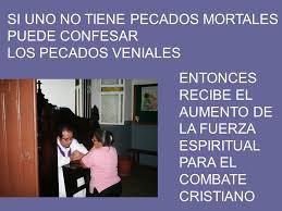 confesión de pecados veniales