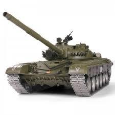Радиоуправляемый танк <b>Heng Long</b> Russian T-72 V6.0 1:16 RTR ...