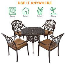 outdoor patio dining table set outdoor