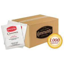 They do not contain lactose and therefore are commonly described as not … 1000 Packets Non Dairy Coffee Creamer Pack Community Coffee