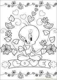 Small Picture tweety bird coloring pages Coloring Pages Tweety 65 Cartoons