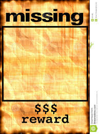 Make A Missing Poster Make Meme With Missing Poster Clipart 19
