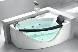 whirlpool corner bathtub l 5 left drain rounded clear modern corner whirlpool bath tub with fixtures whirlpool corner bathtub