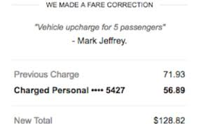 Uber Fare Chart My Horrible Fraudulent Uber Driver What Was He Thinking