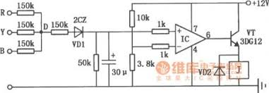 index 4 protection circuit control circuit circuit diagram three phase motor phase failure protection circuit diagram