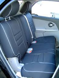chevrolet equinox full piping seat covers rear seats