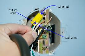 replace a light fixture grace gumption place wire that