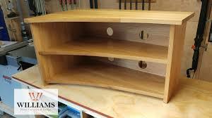 design wooden furniture. Curved Oak Furniture, TV Cabinet, Unit, Wooden Wood Design Furniture T