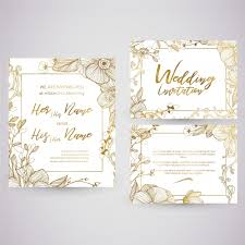 wedding card vectors, photos and psd files free download Wedding Card Vector Graphics Free Download golden wedding card Vector Background Free Download