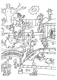Small Picture Visiting the zoo coloring pages ColoringStar
