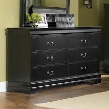 shop homelegance marianne black drawer dresser at lowescom