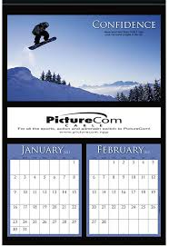 house magnet calendar and temperature strip with your custom logo