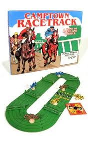 Wooden Horse Racing Game Camptown Racestrack Horce Race Board Game American Classic Games 23