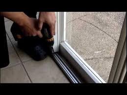 gliding patio door foot lock