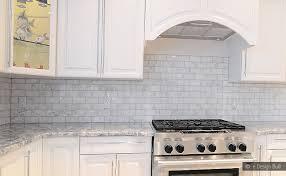 ideas fresh marble tile backsplash ideas the best of kitchen white carrara subway backsplash tile
