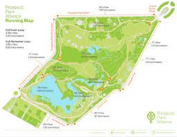 prospectparkrunningmap  sportsworld running club