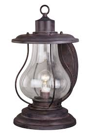 17 outdoor rustic finish western lantern wall mounted light sconce