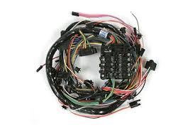 corvette w o ac dash main wiring harness w fuse box classic car wiring harness at Corvette Wiring Harness