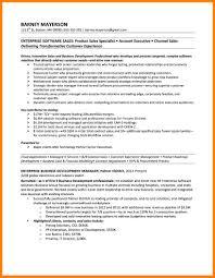 10 Enterprise Software Sales Resume Business Opportunity