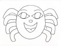 Disegni Da Colorare Maschere Carnevale Per Bambini Di 5 Anni