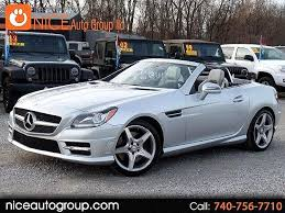 Check the carfax, find a low miles slk, view slk as a convertible, many can be rickety, but this slk is very sturdy, solid, and reliable. Used Mercedes Benz Slk Class For Sale In Columbus Ohio