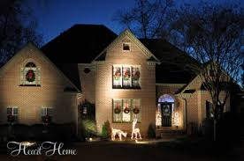 outdoor spot light for christmas decorations. exquisite ideas christmas spot lights decorating the outside for all things heart and home outdoor light decorations t