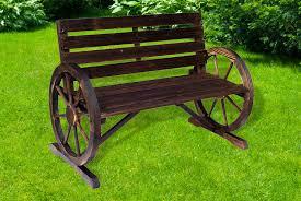 wagon wheel bench livingsocial