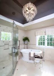 breathtaking mount crystal chandelier bathroom ideas chandelier over