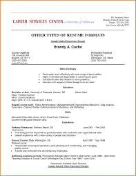 Resume Employment History Examples 24 Resume Job History Happytots 14