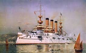 Image result for The USS Maine explodes 1898 images