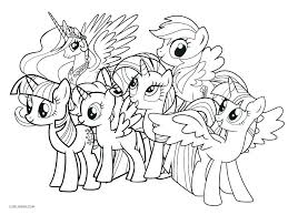 Coloring Pagesmy Little Pony Printable My Little Pony Coloring Pages