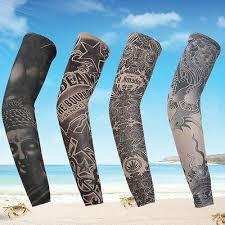 <b>1PC Outdoor</b> Bicycle Sleeve Cover Tattoo Arm Warmers MTB Hiking ...