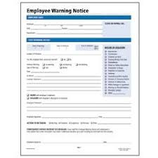 employee warning forms amazon com employee warning notice form 11 x 8 1 2 50 per pack