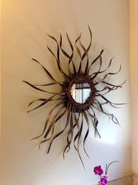 small gold sunburst mirror fish wall decor modern sunburst mirror gold starburst decor coffee wall