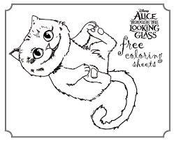 Small Picture Disney Alice Coloring Pages To Print Coloring Coloring Pages