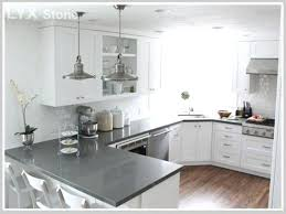 light grey quartz countertop breathtaking gray countertops photo 2 of 8 stone engineered decorating ideas