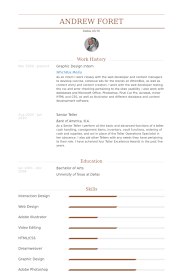 Design Intern Resume Samples Visualcv Resume Samples Database