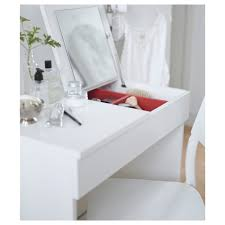 Makeup Table Brimnes Dressing Table White 70x42 Cm Ikea