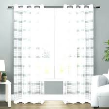 sheer linen curtain panels 96 charming inch curtains ins home grommet top in panel pair white