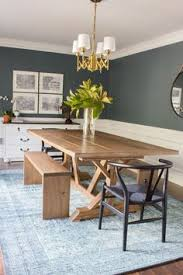 loving this dining room refresh it includes a diy dining table and benches plus