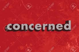 Image result for concerned word