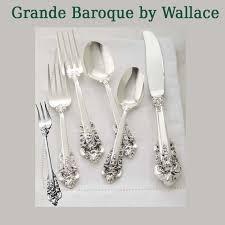 wallace grande baroque sterling silver