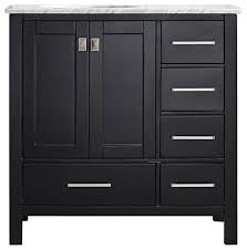 pierre vanity without mirror espresso 36