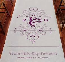 aisle runners wedding aisle runners Unique Wedding Aisle Runner fanciful monogram wedding aisle runner unique wedding aisle runners