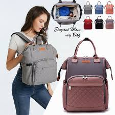 <b>LEQUEEN Mummy Maternity</b> Nappy Diaper Bag Large Capacity ...