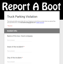 Report Your Boot Mich Small Fleet Owner Crowd Sourcing